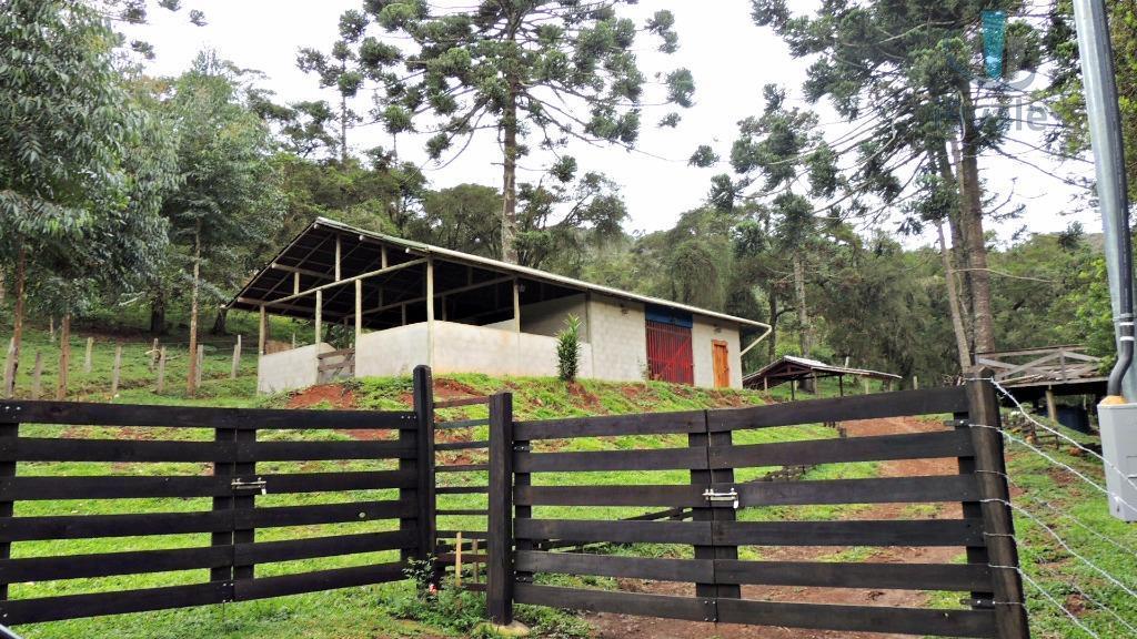 Chácara de 2 dormitórios em Centro, Gonçalves - MG