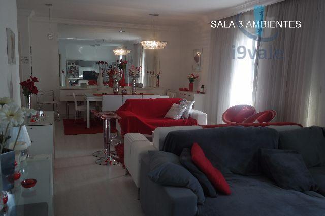 Apartamento de 3 dormitórios em Vila Ema, São José Dos Campos - SP