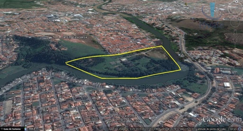 Área em Cidade Jardim, Jacareí - SP