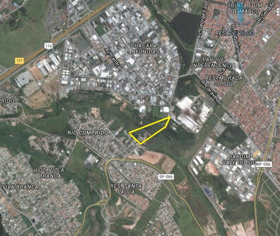 Área em Chácaras Reunidas, São José Dos Campos - SP