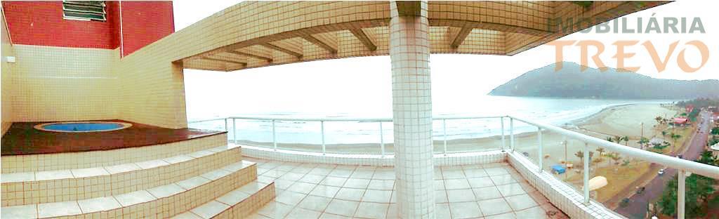 Cobertura de Luxo Frente ao Mar- Bertioga Sp