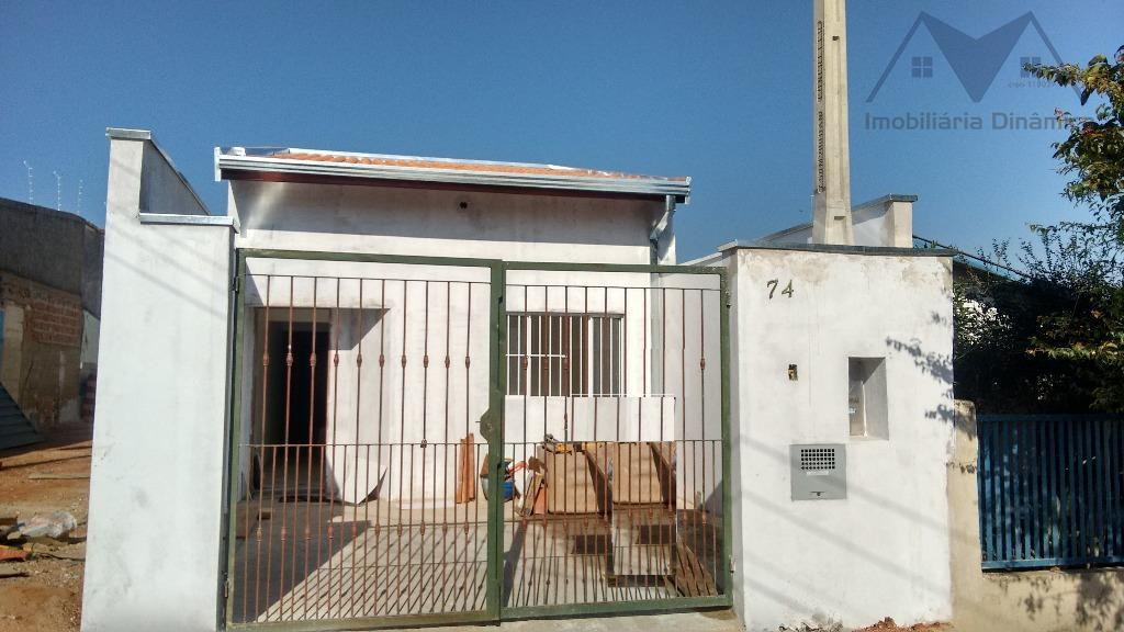 Casa residencial à venda, Jardim João Paulo II, Sumaré - CA0222.