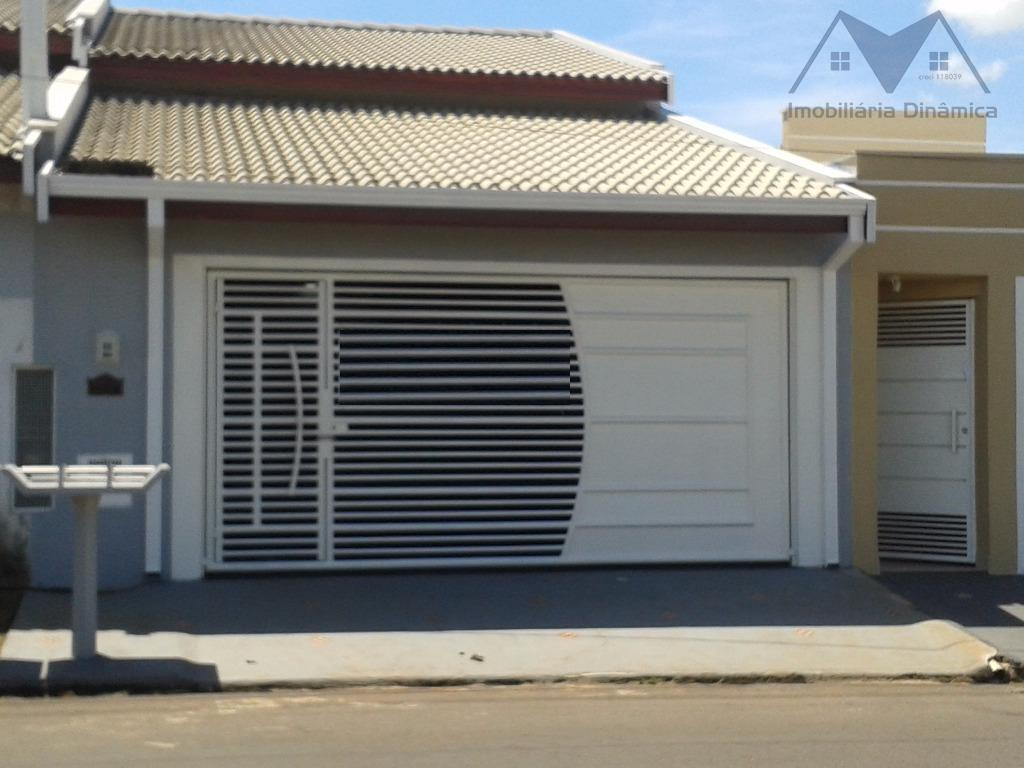 Casa residencial à venda, Residencial Santa Luiza II, Nova Odessa.