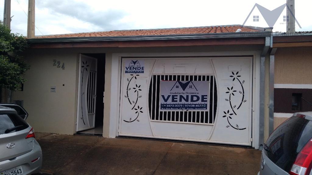 Casa residencial à venda, Jardim Campos Verdes, Nova Odessa.