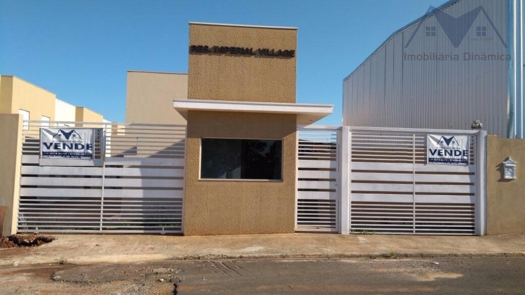 Casa residencial à venda, Chácara Bela Vista, Sumaré.