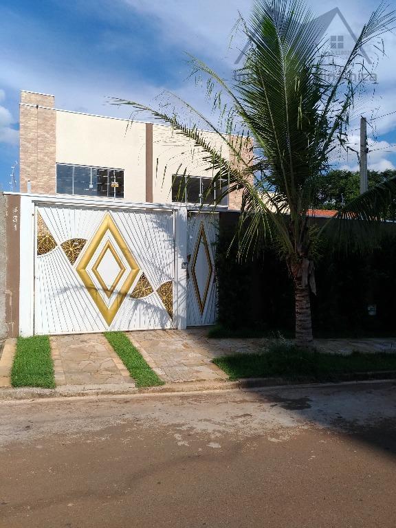 Casa residencial à venda, Jardim Residencial Ravagnani, Sumaré.