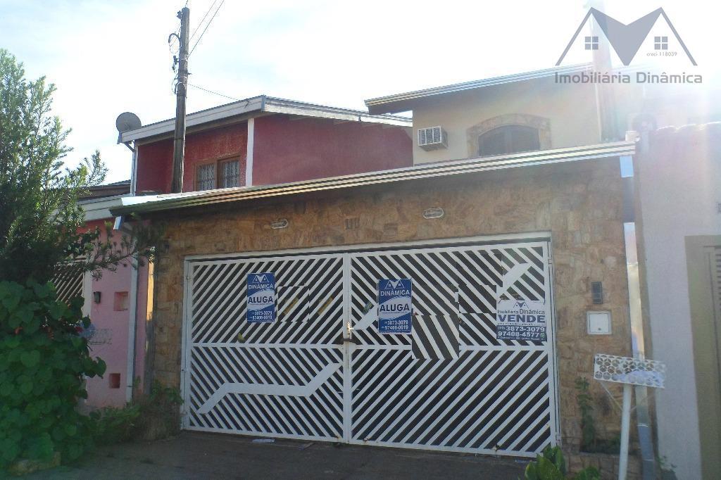 Sobrado residencial para venda e locação, Jardim Marchissolo, Sumaré.