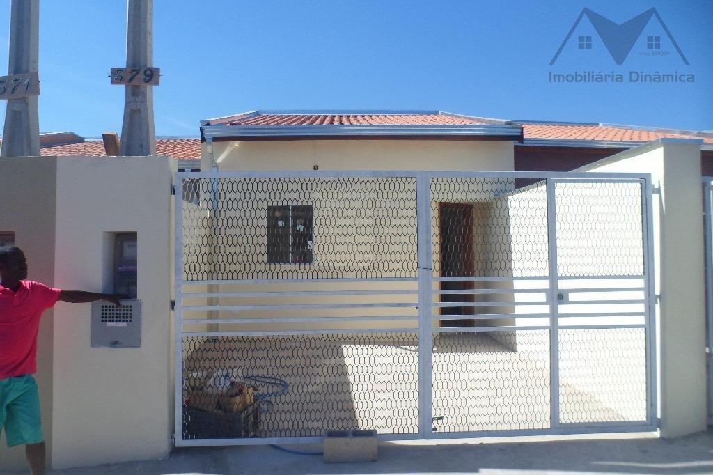 Casa à venda, 64 m² por R$ 205.000,00 - Jardim Nova Terra (Nova Veneza) - Sumaré/SP