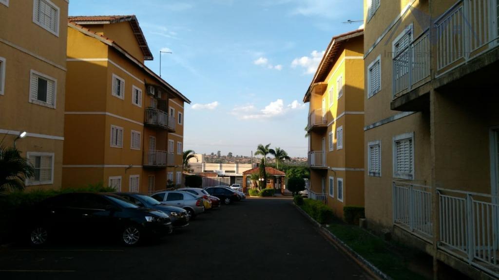 Apartamento com 2 dormitórios à venda, 58 m² por R$ 170.000 - Jardim Marchissolo - Sumaré/SP