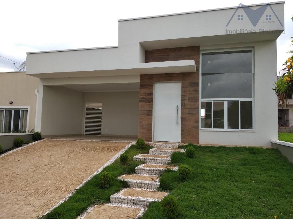 Casa com 3 dormitórios à venda, 170 m² por R$ 590.000 - Residencial Real Parque Sumaré - Sumaré/SP