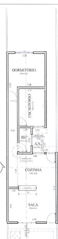 Casa com 2 dormitórios à venda, 60 m² por R$ 185.000 - Jardim do Trevo (Nova Veneza) - Sumaré/SP