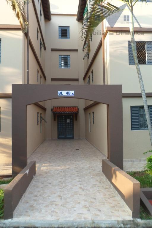 Apartamento com 2 dormitórios à venda, 63 m² por R$ 190.000 - Parque João de Vasconcelos - Sumaré/SP