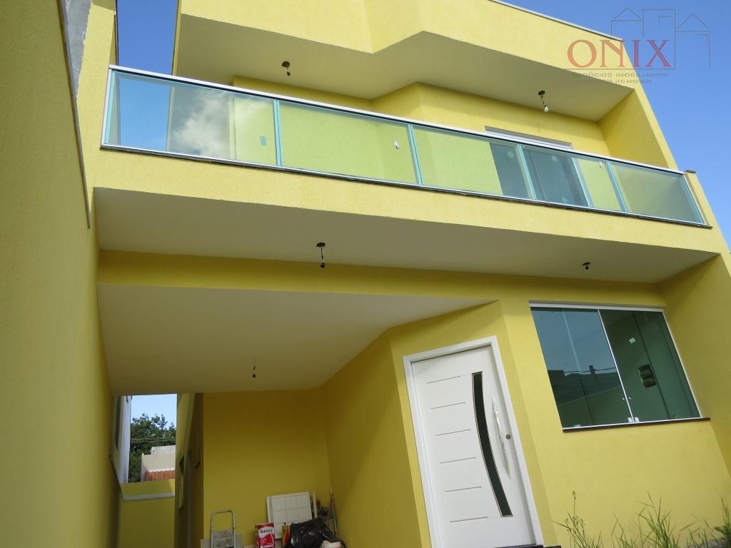 Sobrado residencial à venda, Real Park, Mogi das Cruzes - SO0005.