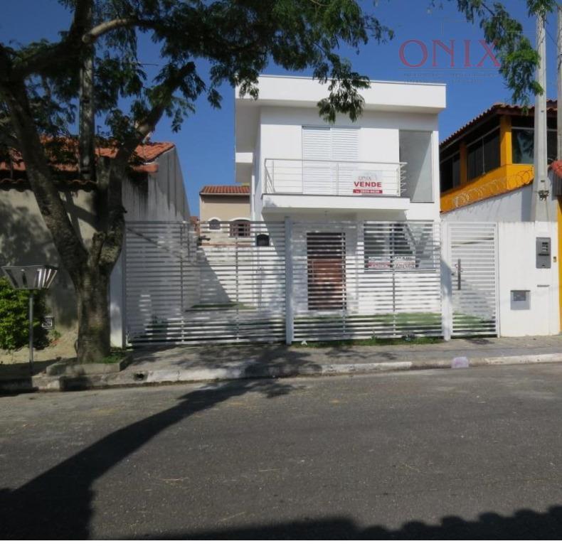 Sobrado residencial à venda, Real Park, Mogi das Cruzes - CA0023.