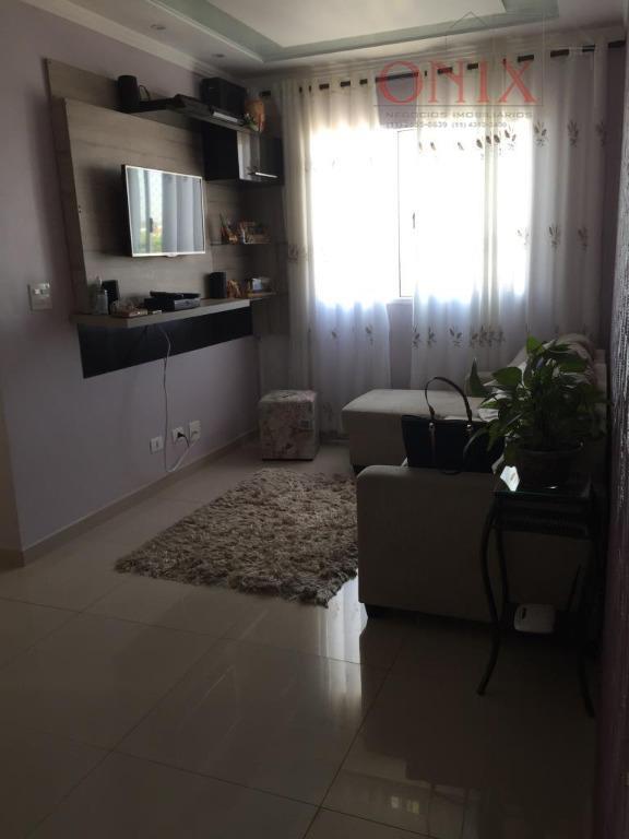 Apartamento  residencial à venda, Chácara Bela Vista, Poá.