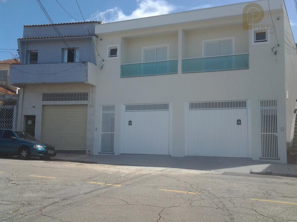 linda casa assobradada residencial à venda, Vila Maria Alta, São Paulo.