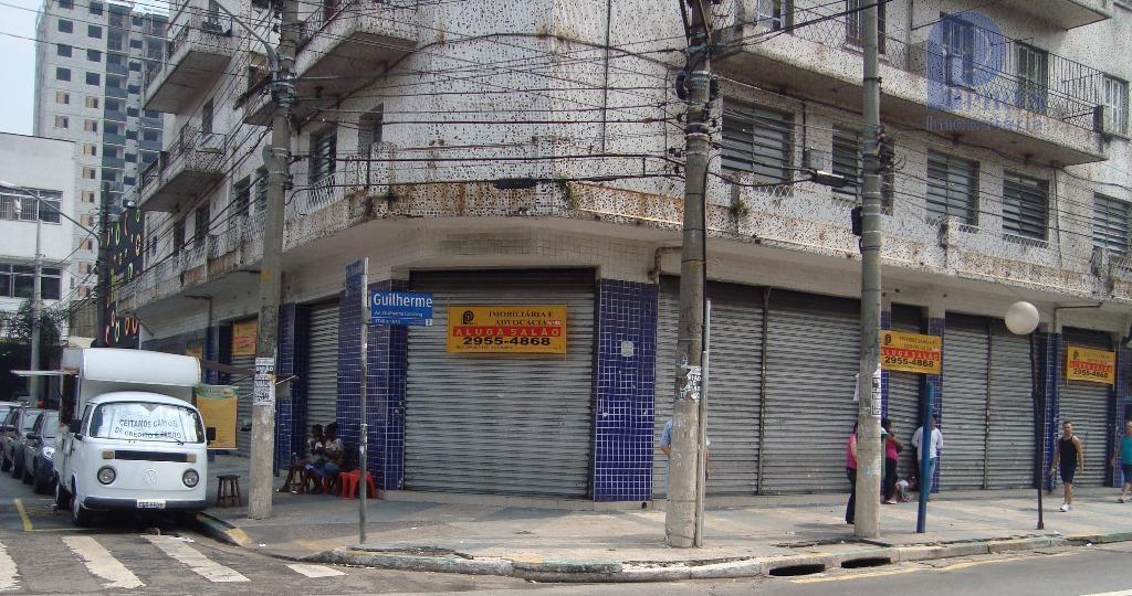 Salão comercial para locação, Vila Maria, São Paulo - SL0006.