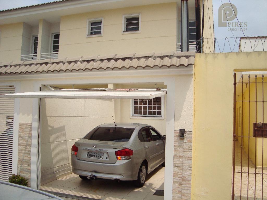 Sobrado residencial à venda, Vila Maria Baixa, São Paulo - SO0015.