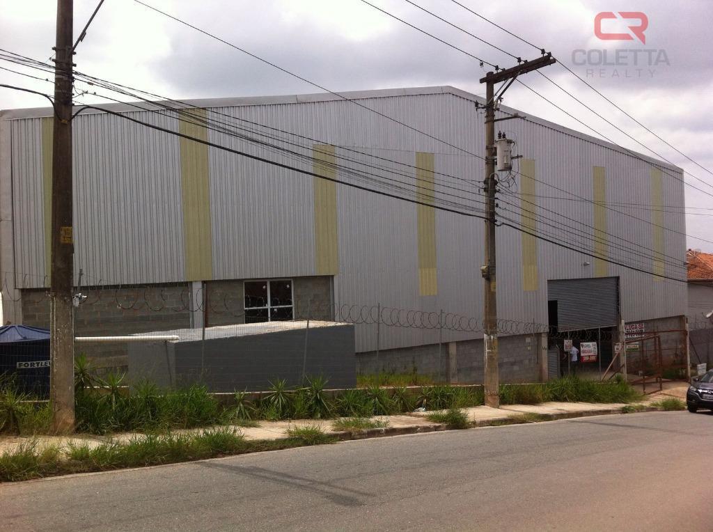Galpão comercial para venda e locação, Jardim Nova Itapevi,