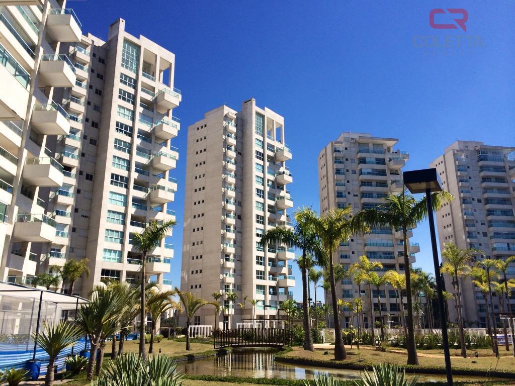 Apartamento residencial à venda, Residencial Três (Tamboré),