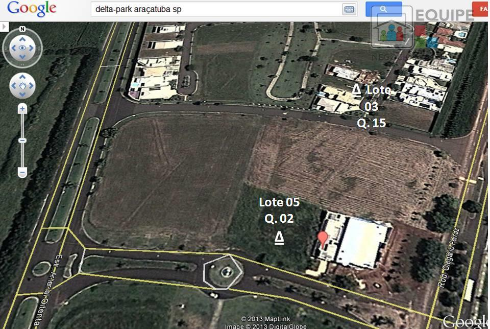 Terreno à venda em Aeroporto, Araçatuba - SP