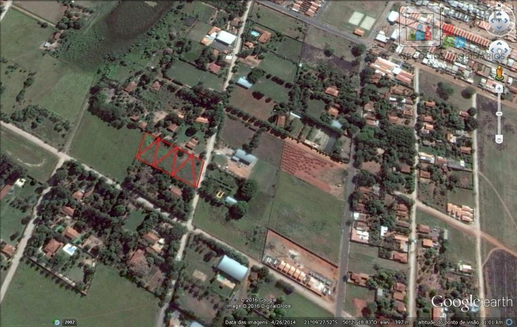 Terreno em Chácaras Versalhes, Araçatuba - SP