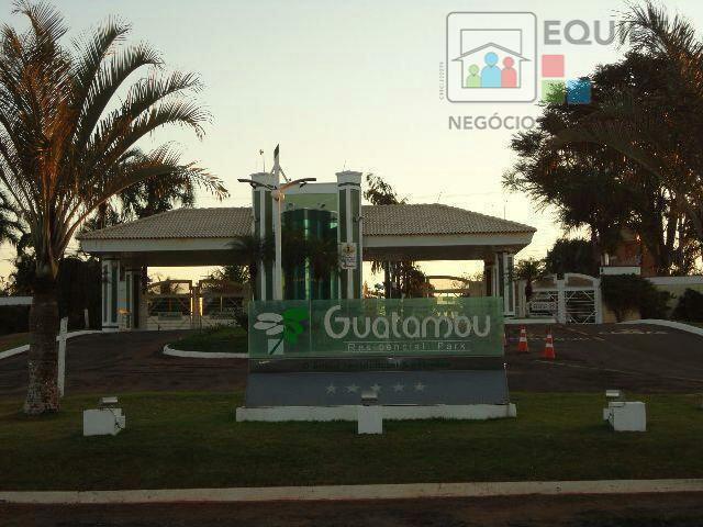 Terreno à venda em Condomínio Residencial Guatambu Park, Birigüi - SP