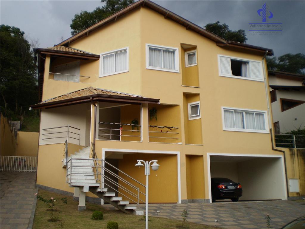 Casa Residencial à venda, Chácara Flora, Valinhos - CA0389.