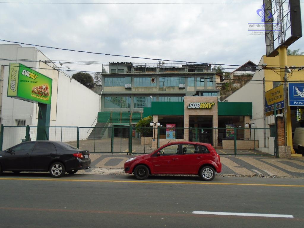 Prédio comercial para venda e locação, Vila Bissoto, Valinhos - PR0008.