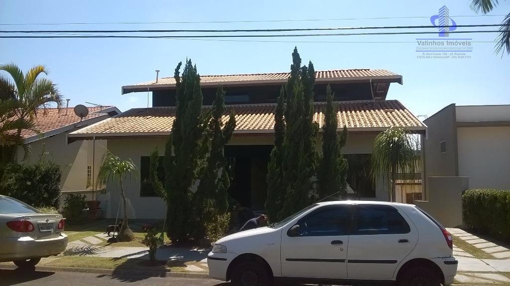 Casa  residencial à venda, Condomínio Residencial Terras do Caribe, Valinhos.