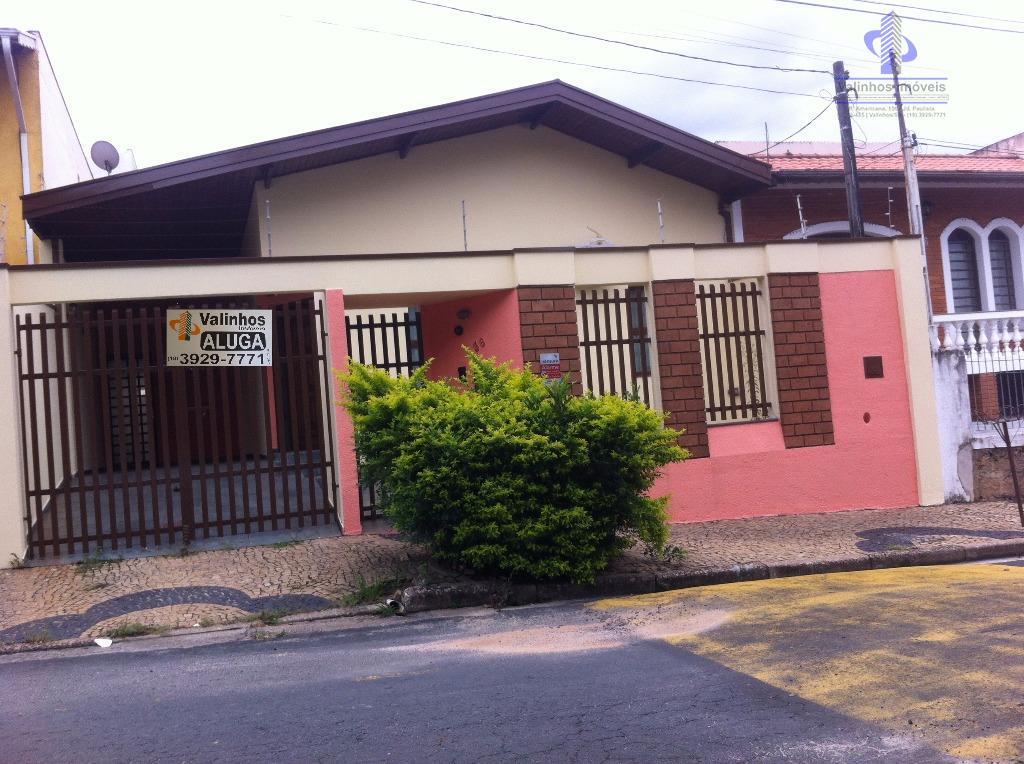Casa residencial para locação, Residencial São Luiz, Valinhos.