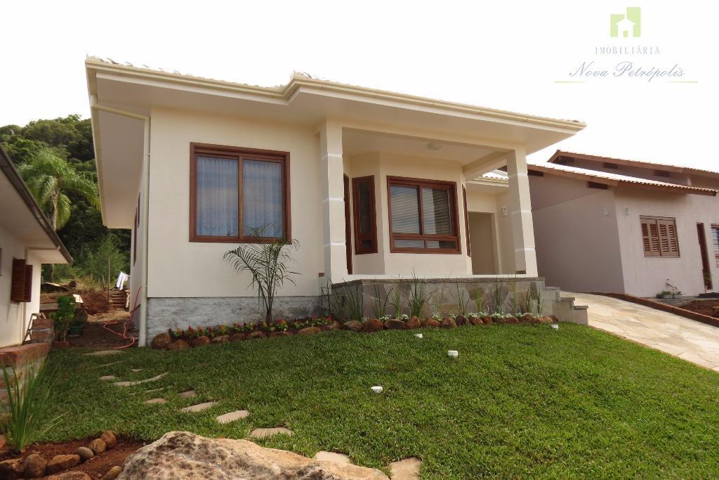 Casa  com excelente vista no Piá.