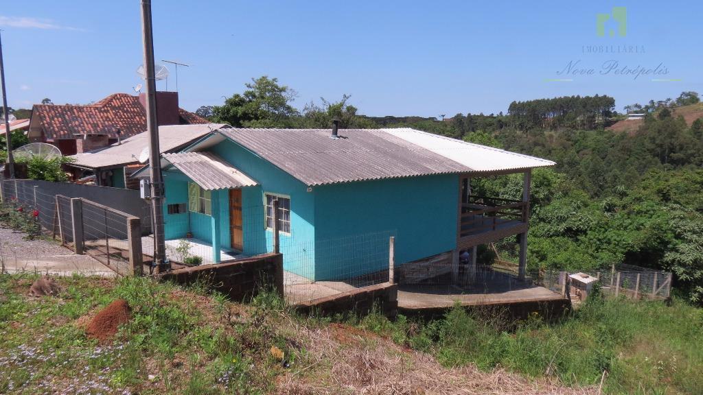 Casa  residencial à venda, Vila Rica, Nova Petrópolis.