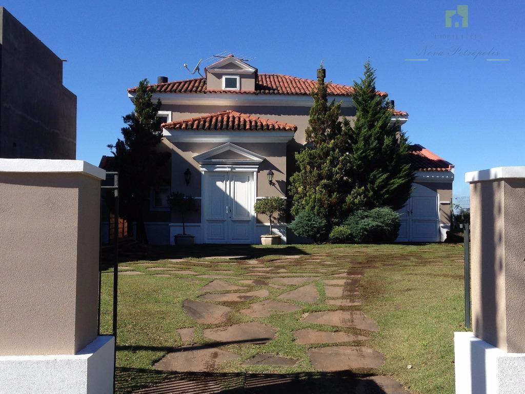 Casa com vista deslumbrante Pousada da Neve, Nova Petrópolis.