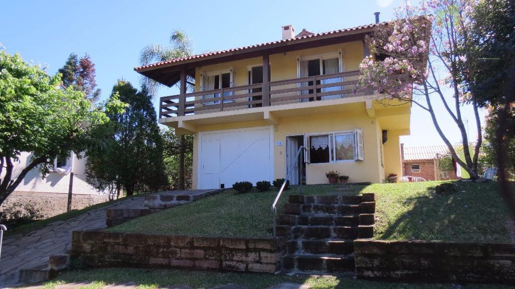 Casa residencial à venda, Vila Germania, Nova Petrópolis.
