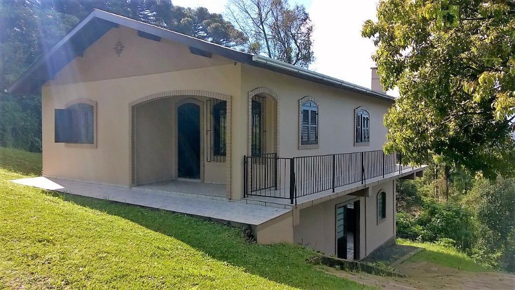 Casa  residencial para locação, Pinhal Alto, Nova Petrópolis.