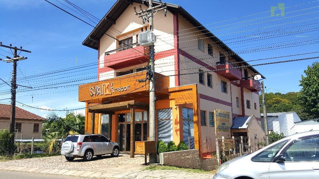 Apartamento residencial para locação, Br-116, Nova Petrópolis.