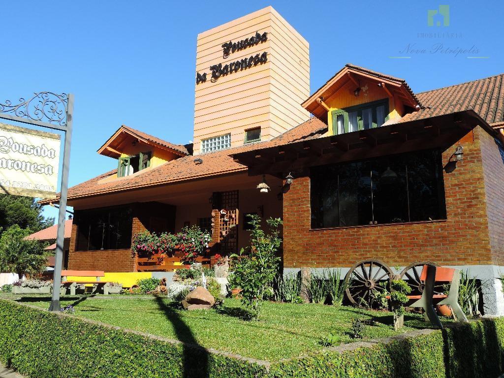 Pousada comercial à venda, Vila Olinda, Nova Petrópolis.