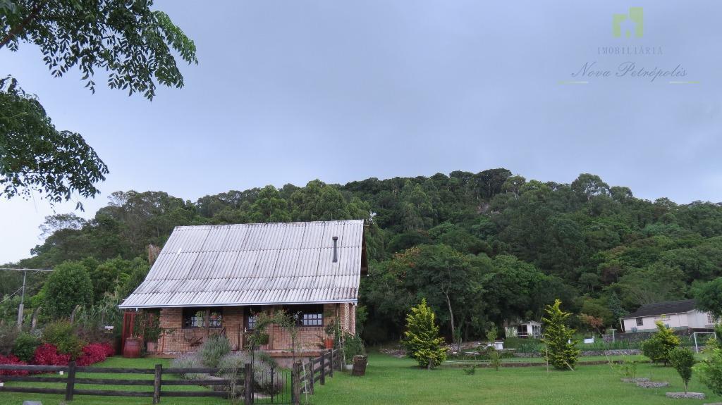Sítio rural à venda, Vila Germania, Nova Petrópolis.