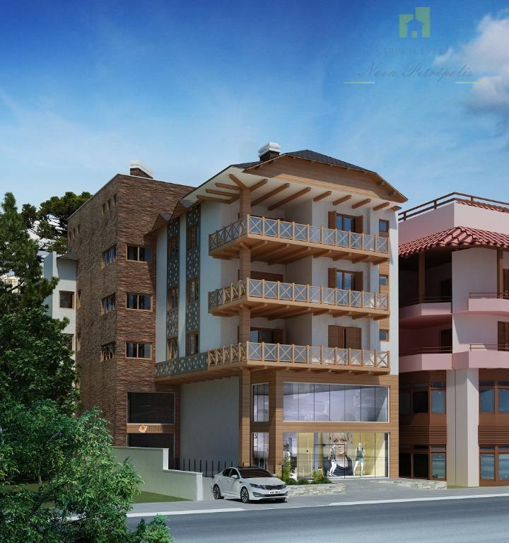 o conforto para sua moradia está à sua disposição!residencial das flores, no coração de nova petrópolis!apartamentos...