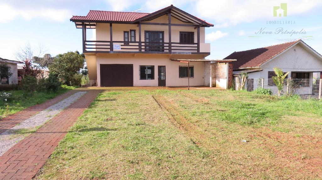 Casa residencial para venda e locação, Vila Germania, Nova Petrópolis.