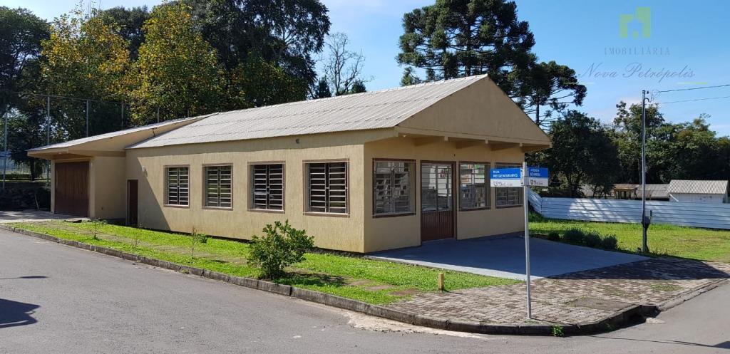 Galpão para alugar, 221 m²- Pousada da Neve - Nova Petrópolis/RS