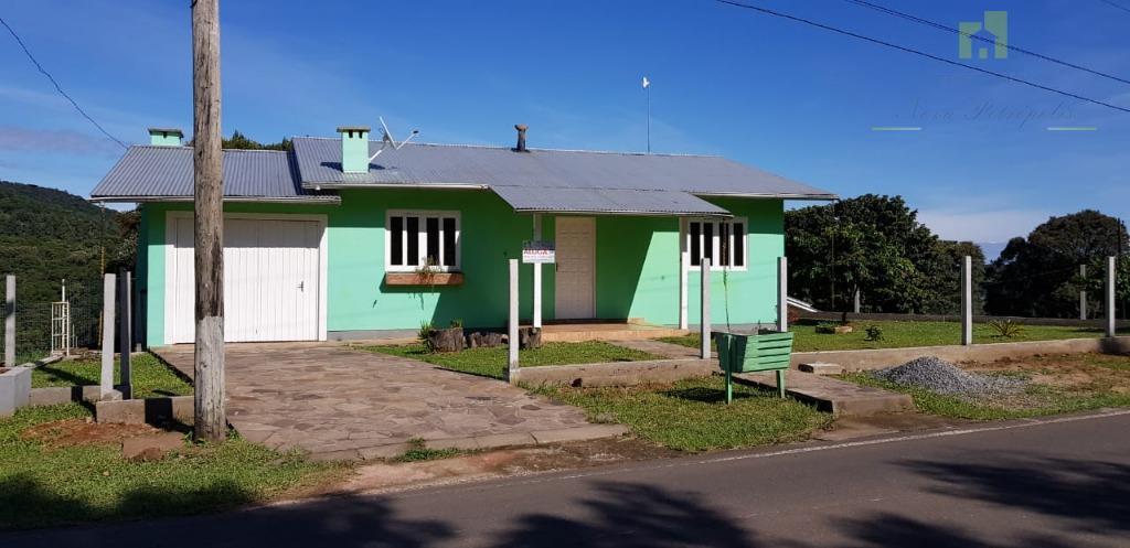 Casa com 3 dormitórios para alugar, 85 m² - Pinhal Alto - Nova Petrópolis/RS