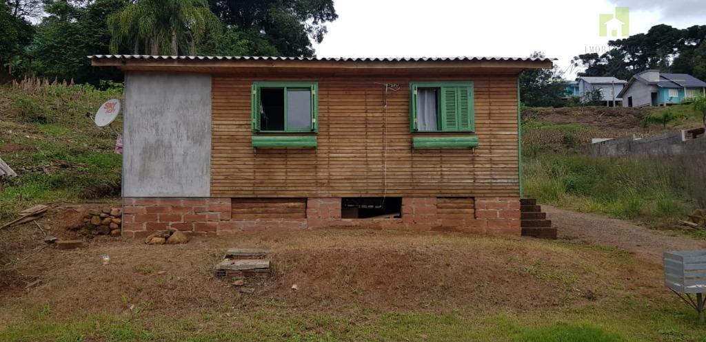Casa com 2 dormitórios para alugar, 48 m²- Vale Verde - Nova Petrópolis/RS