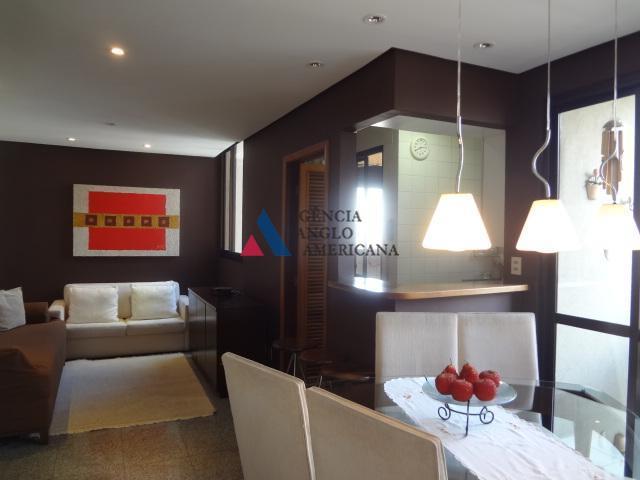 Apartamento residencial para locação, Indianópolis, São Paulo - AP3063.