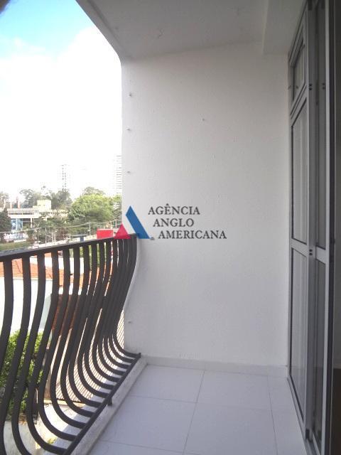 Apartamento residencial para locação, Santo Amaro, São Paulo.