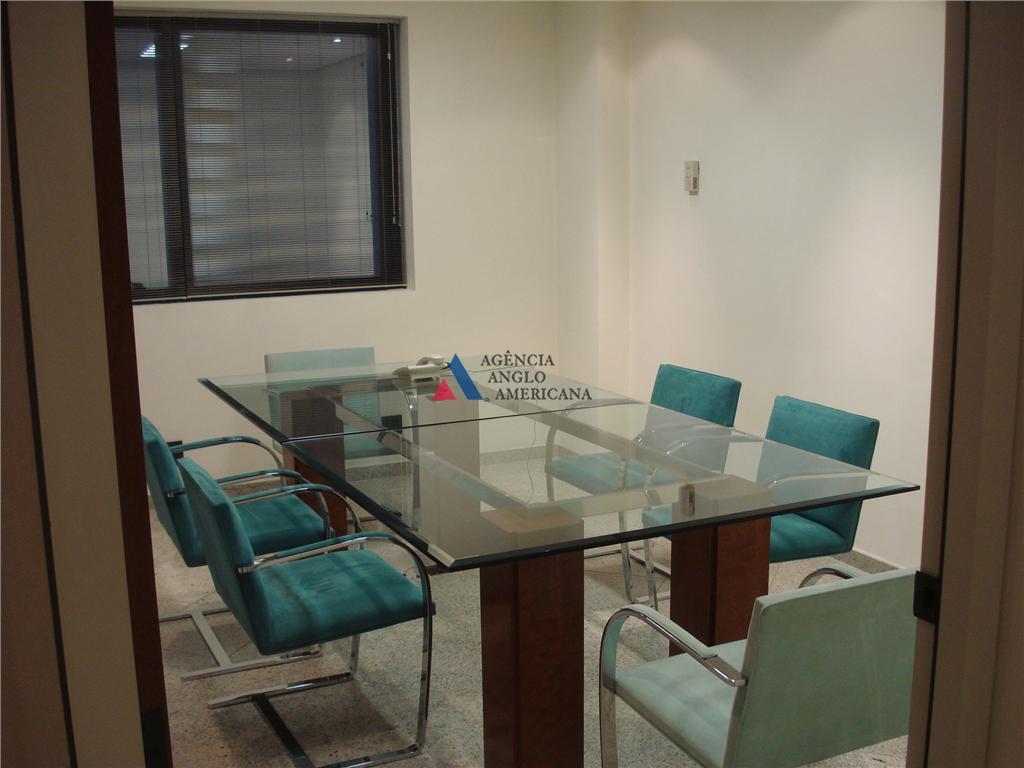 conjunto comercial, todo equipado e pronto para o uso.sala de reunião, recepção, refeitório, sala de chefia,...