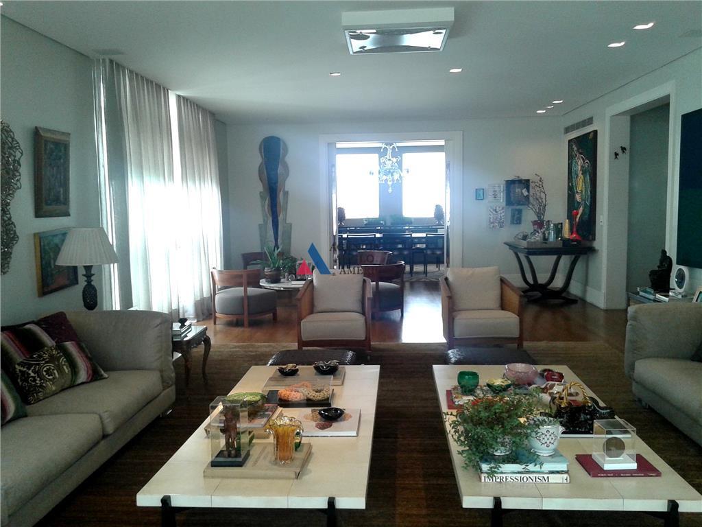 Apartamento Jardins, venda e locação - São Paulo - AP5107.