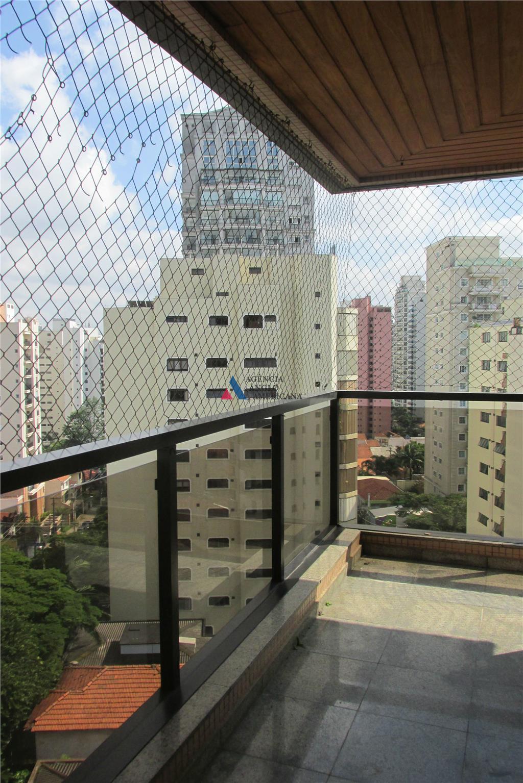Apartamento residencial para locação, Moema, São Paulo - AP11180.