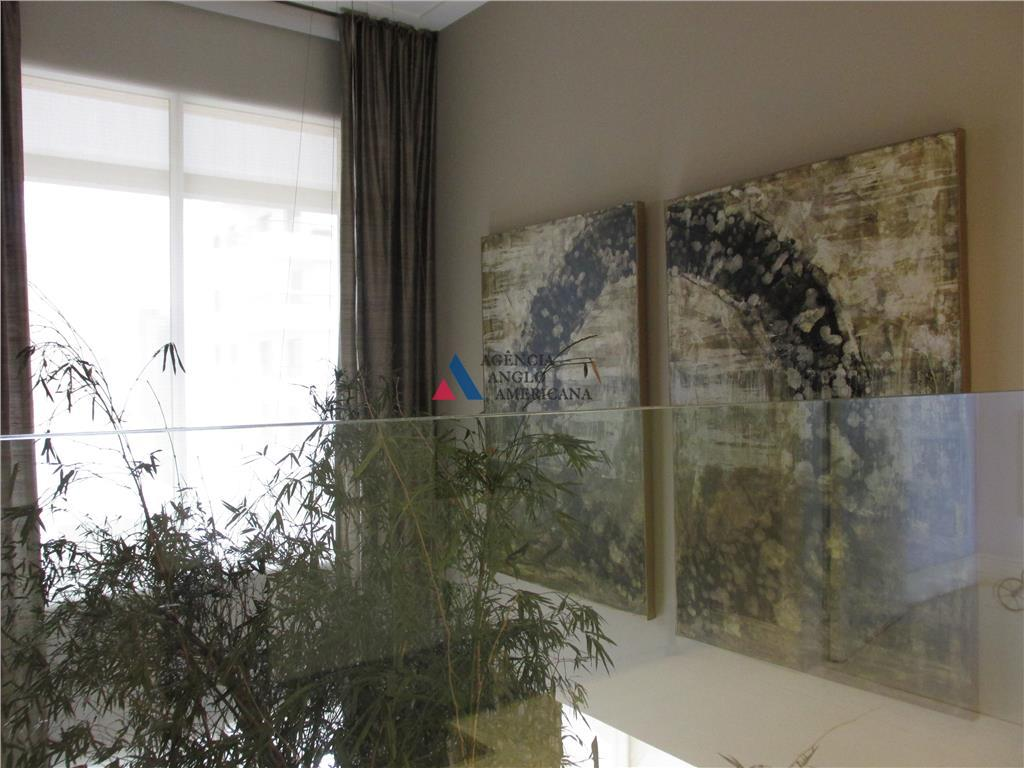 apartamento duplex - locação em área nobre entre o itaim e vila nova conceição, com espetacular...